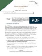 Aplicación de AHP en Desarrollo de Especialidades 03
