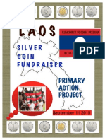 silver coin drive poster