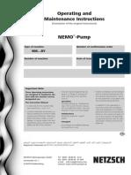 IOM Progressing Cavity Pump (API 676)