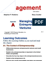 Managing Enterpreneurial Ventures