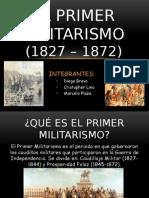 Primer Militarismo del Perú