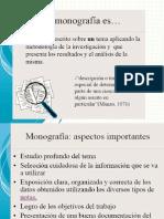 Presentación MONOGRAFIA