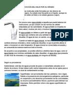Clasificacion Del Agua