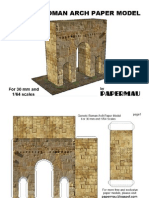 arco romano recortable.
