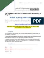 eng1001 2015 course syllabus