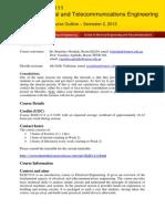 Elec1111 2015s2 Course Outline