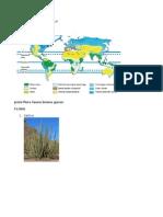 Peta Persebaran Bioma Gurun