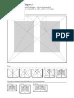 Grilla - Método de la diagonal