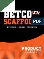 Betco scaffold
