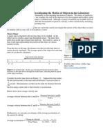 02 Kinematics_Apparatus Motion of Objects_LohYL