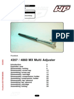 Mxma Front Fork Assembly