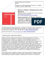 Improvement of Power System