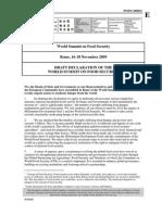 WorldFood SecuritySummit2009Declaration