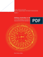 China Maritime Study 7 Military Activities in the EEZ Dutton