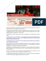 Las Bolsas Mundiales Se Desplomaban Este Lunes Debido a La Preocupación Que Suscita La Situación de China