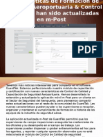 Características de Formación de Seguridad Aeroportuaria & Control de Calidad Han Sido Actualizadas en M-Post