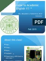 class 1 ae1 fall 2015