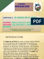 El Riego en El Peru- Diego