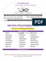 2015 - 2016 Ieee Android Project Titles