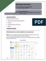 Guia Manejo de software para para el diseño de publicidad