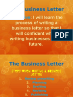 the business letter 2