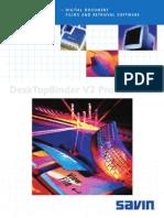 Savin Desktop Binder 150