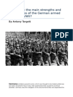 What Were the Main Strengths and Weaknesses of the German Armed Forces