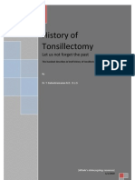History of Tonsillectomy