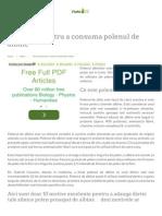 10 Motive Pentru a Consuma Polenul de Albine Viata