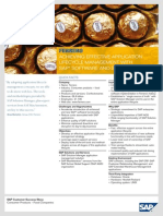 Ferrero Achieving Effective Application Lifecycle Management With SAP Software and Services
