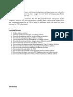 Case Study, LO, Intro