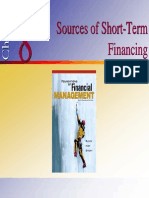 Sources of Short - Term finance