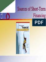 Sources of Short - Term finance