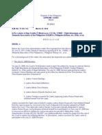 In Re Letters of Atty. Estelito P. Mendoza Re G.R. No. 178083