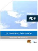 EL PROBLEMA NO ES CHINA