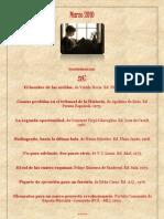 Marzo, Libros de ocasión 5€