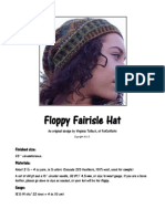 Floppy Fairisle Hat Pattern and Charts Final