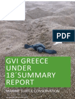 GVI Greece U18's summary report 2015 season