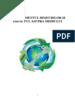 MANAGEMENTUL DEŞEURILOR ŞI IMPACTUL ASUPRA MEDIULUI.doc