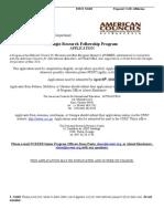 Carnegie Application 2010-2011