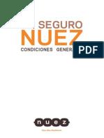 Nuez Condiciones GeneralesN0033409