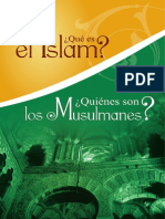 ¿Qué es el Islam? Y ¿Quiénes son los musulmanes?