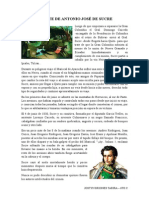 Muerte de Antonio José de Sucre