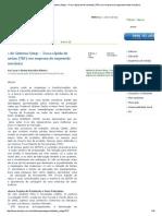 Techoje - Análise Do Sistema Setup – Troca Rápida de Ferramentas (TRF) Em Empresa Do Segmento Metal Mecânico