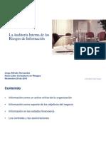 La Auditoría Interna de Los Riesgos de Información 29nov-10