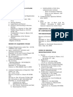 151778526 Land Title and Deeds Outline With Cases