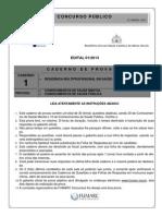Caderno de Provas Residência Multiprofissional.PDF