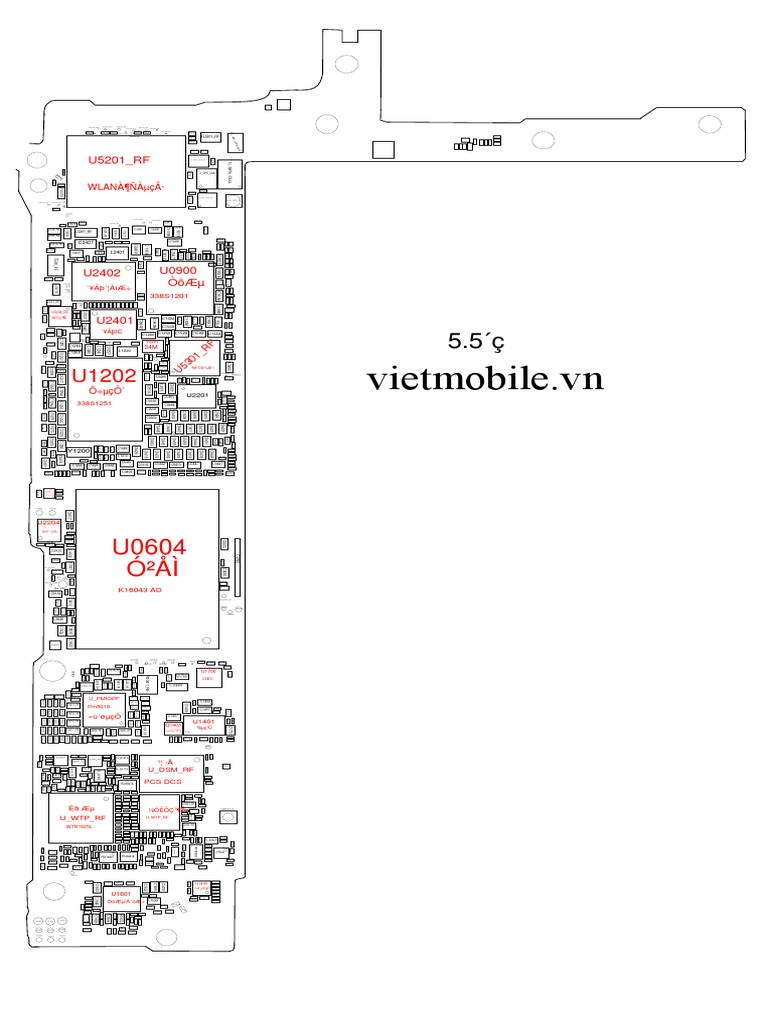iphone 6 plus schematic full_vietmobile vn pdf | computer hardware |  electrical engineering