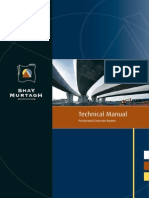 Technical manual for Prestressed beam