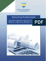 Accounting Fundamentals Booklet